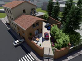 Projet de construction d'immeuble aux Olmes